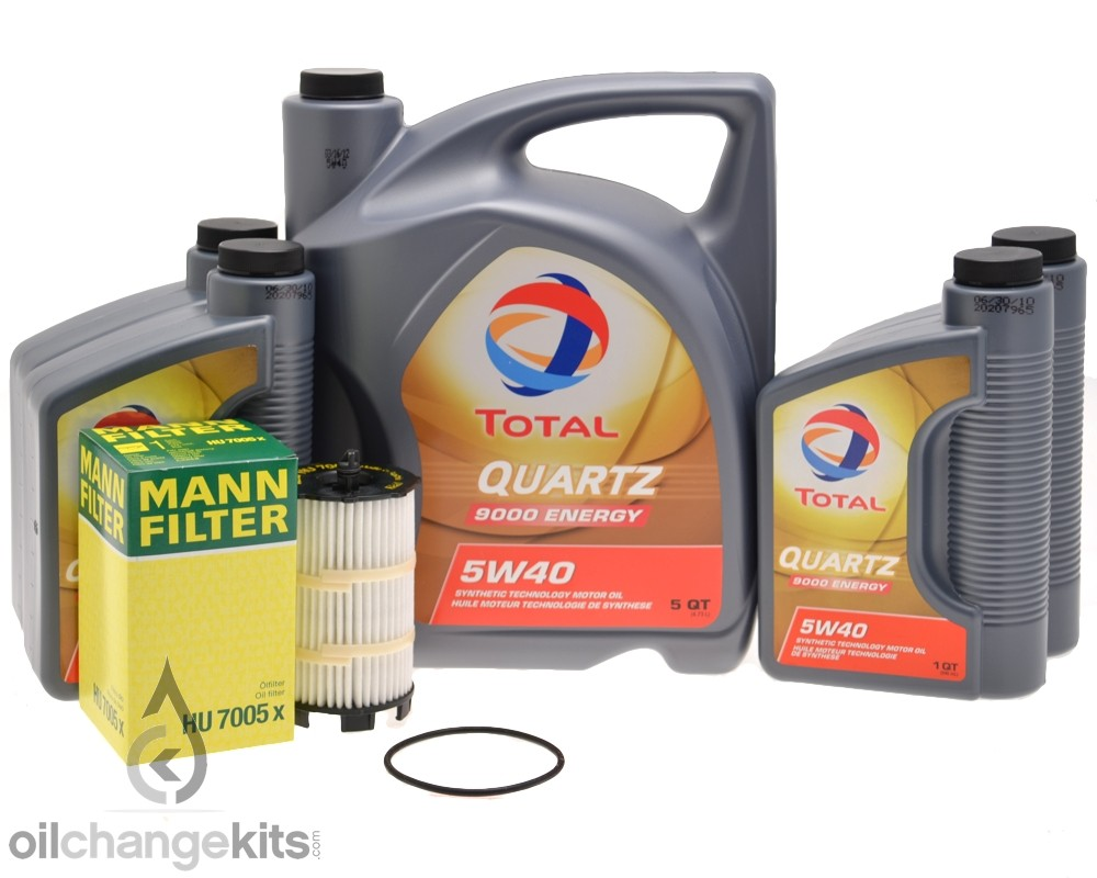 Volkswagen Touareg 2 V8 FSI Oil Change Kit (2007-2010) - 079 198 405 B ...