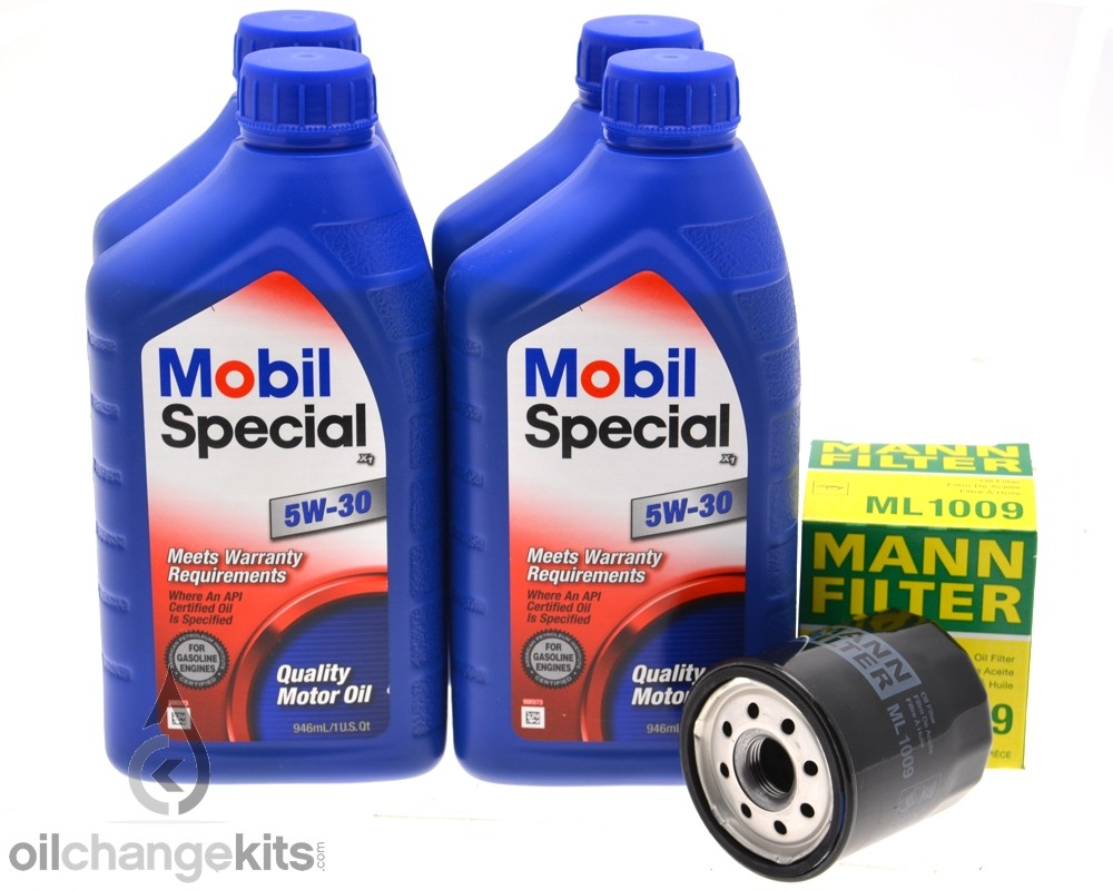 4 Quarts Mobil Special 5w30 & MANN Oil Filter